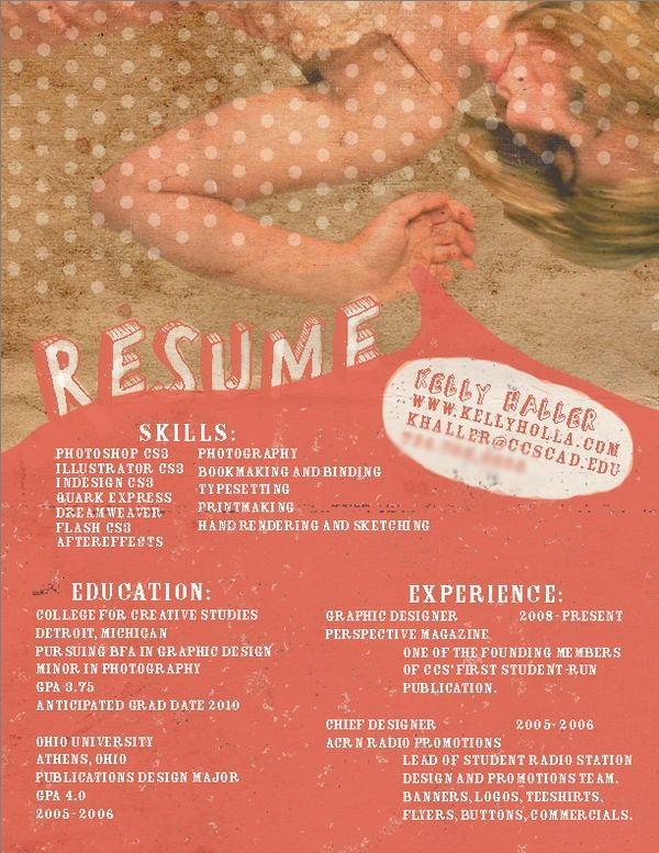 Brilliant Resume Designs Like You have never seen before (27)