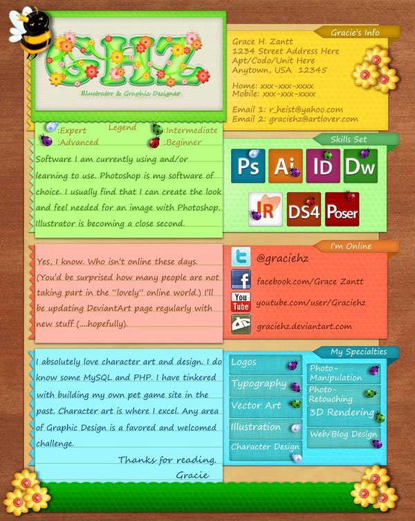 Brilliant Resume Designs Like You have never seen before (7)