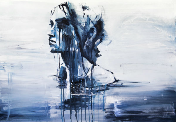 nell acqua - Traditional Art Paintings