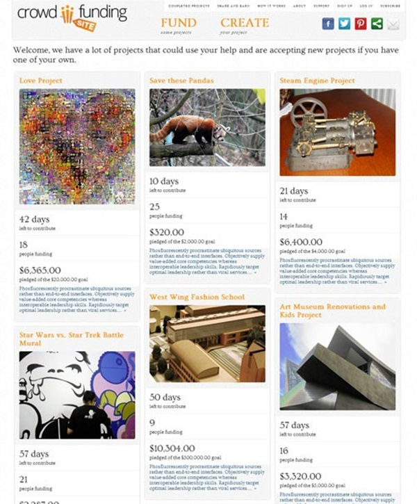 Crowd Funding WordPress Themes of the Year15