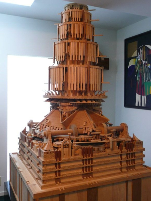 Creative Wooden Artworks and Sculptures13.1