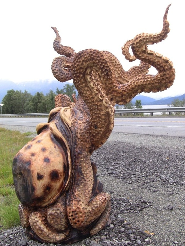 Creative Wooden Artworks and Sculptures13.2