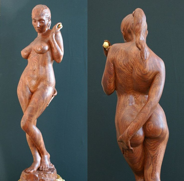 Creative Wooden Artworks and Sculptures17