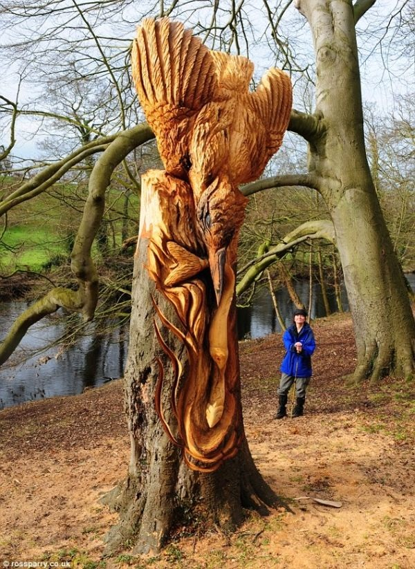 Creative Wooden Artworks and Sculptures4