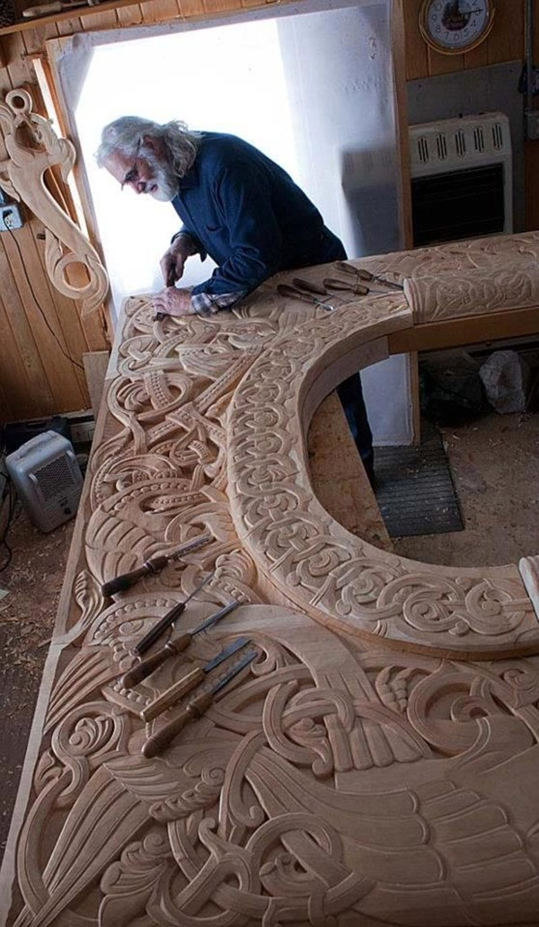 Creative Wooden Artworks and Sculptures40