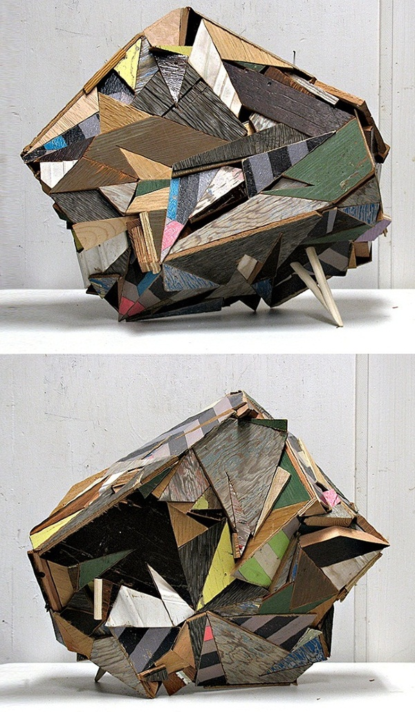 Creative Wooden Artworks and Sculptures9.2