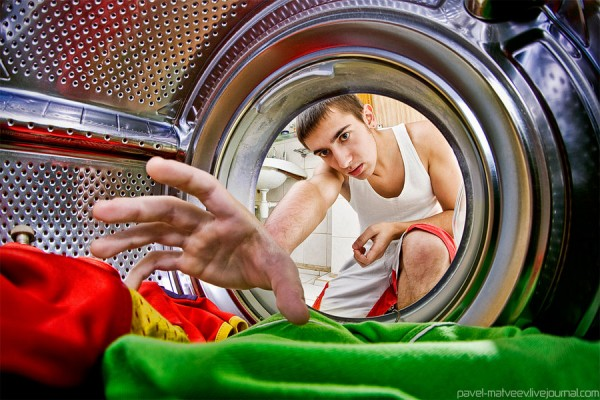 Inside_washer - Strange Conceptual Photography