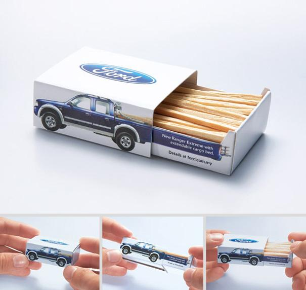 Ford Ranger Extreme Matchbox Product Packaging Designs