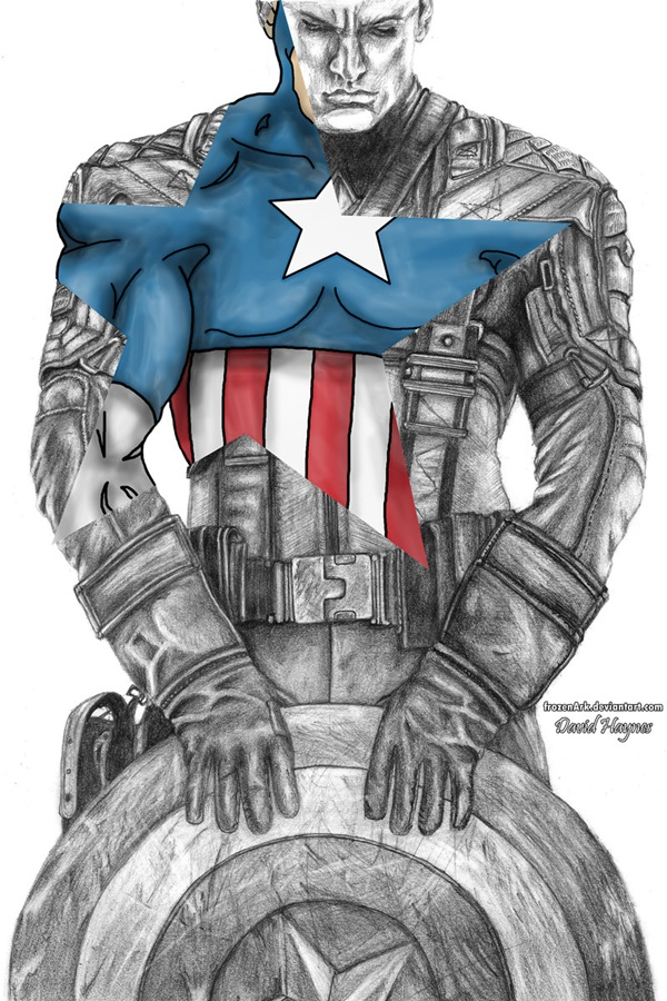 Captain America Fan Art and Illustrations1