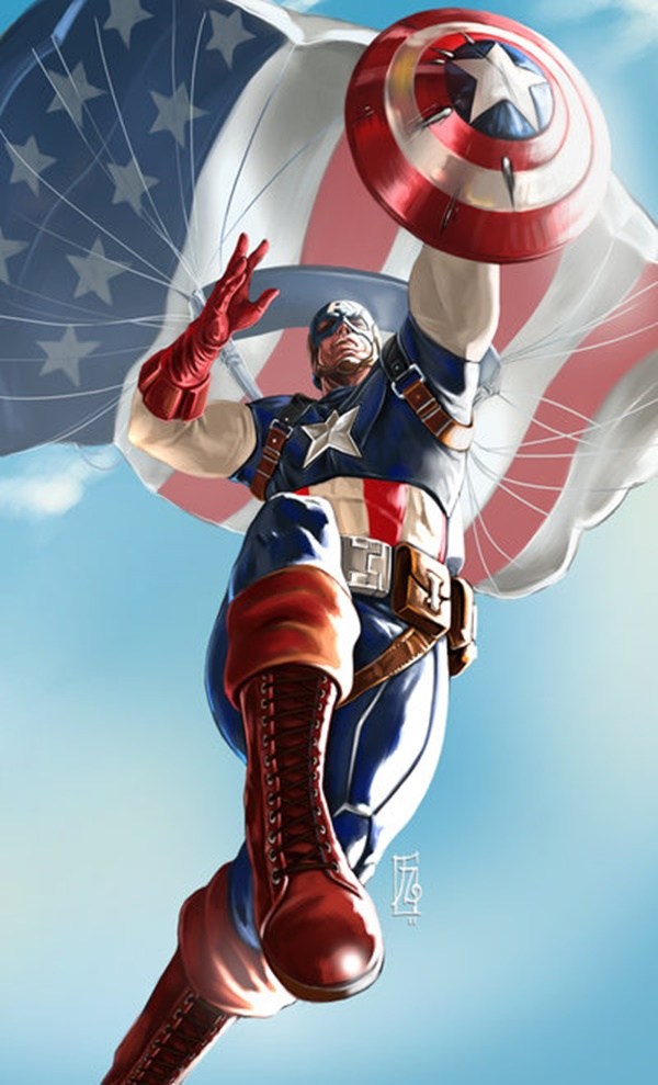 Captain America Fan Art and Illustrations10