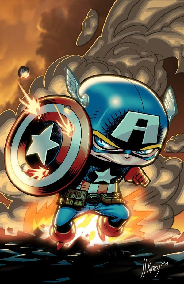 Captain America Fan Art and Illustrations22.1