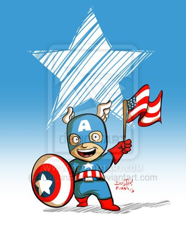 Captain America Fan Art and Illustrations29