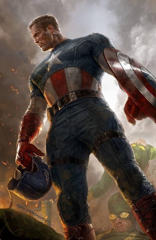 Captain America Fan Art and Illustrations3.1