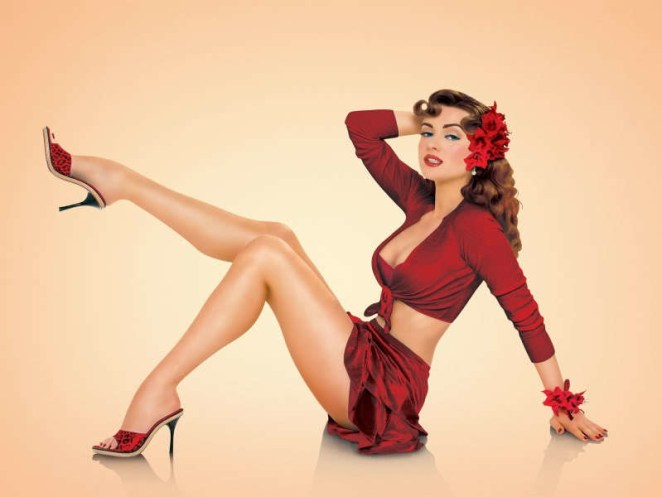 Pin up Girl Wallpaper HD for Desktop (38)