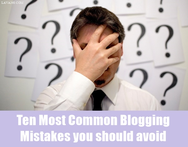 Most Common Blogging Mistakes1.1