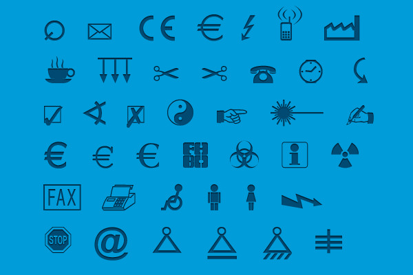 Symbols by Martin Vogel