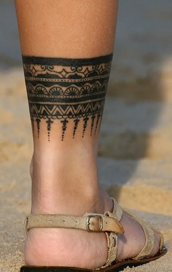 female leg tattoos ideas (17)