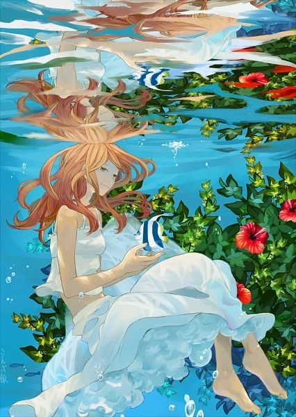 beautiful-anime-water-reflection-wallpaper-19