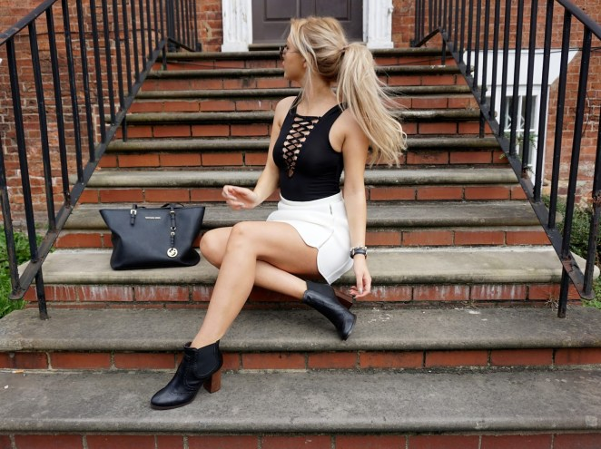 Lace Up Tops 11