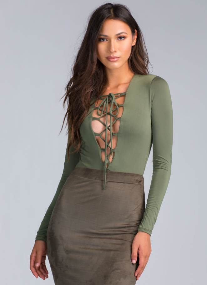 Lace Up Tops 19