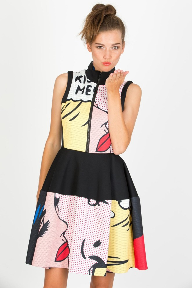 pop-art-dresses-trend chic style