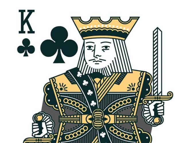 chrisyoon-kingclubs Face Cards: The Intricate Playing Card Designs
