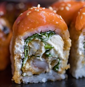 Image of Salmon Maki available at Lava eSports Centre