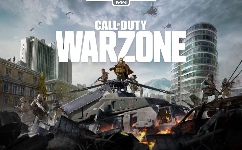 Call of Duty Warzone which is available to play  at Lava Esports.