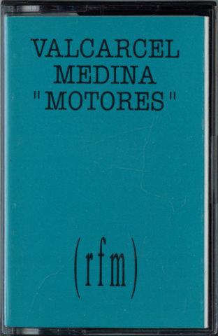 """Cassette de la pieza sonora """"Motores"""", de Isidoro Valcárcel"""