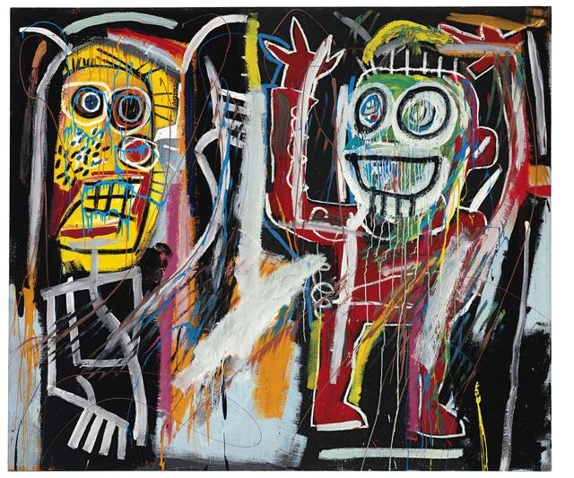 """Dustheads"", de Basquiat. Alcanzó los 33'5 millones de euros."