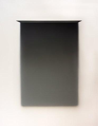 """146x114"", de Josechu Dávila. Doce piezas idénticas a esta formaban su obra"