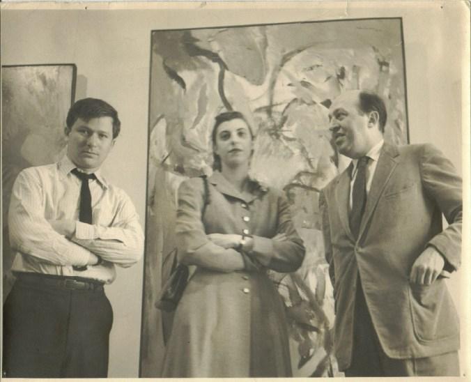 Harry Jackson, Hellen Frankenthaller y Clement Greenberg