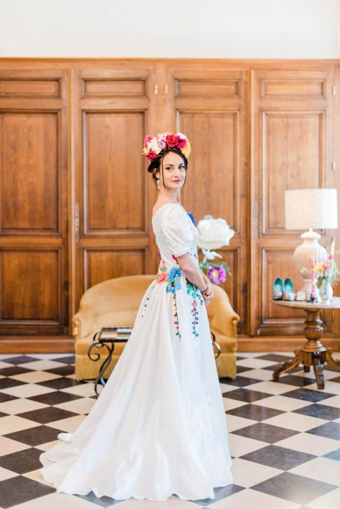 inspiration mariage thème frida kahlo