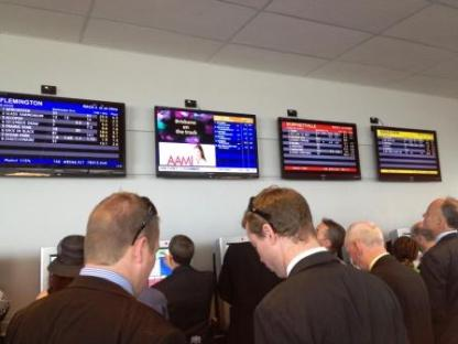 Betting on a horse
