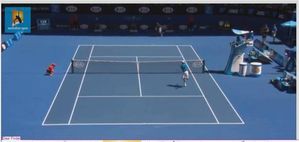 Australian Open 2014 court