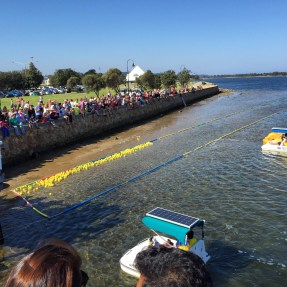 Lakes Entrance Plastic Duck Race, Gippsland, Victoria, Australia (Photo credit: lavaleandherworld.wordpress.com)
