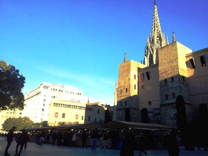 Barcellona_piazza della Cattedrale