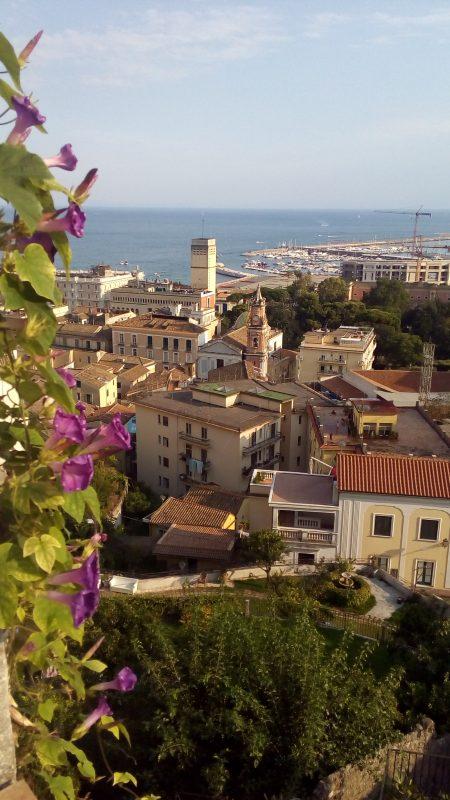 Panorama di Salerno dal Giardino