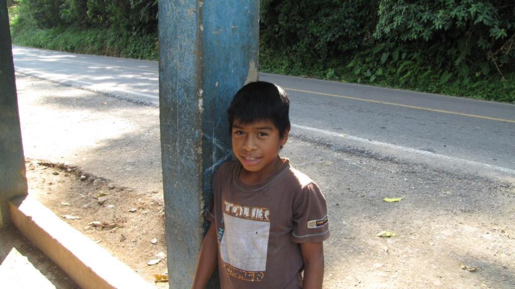 bambino in Messico