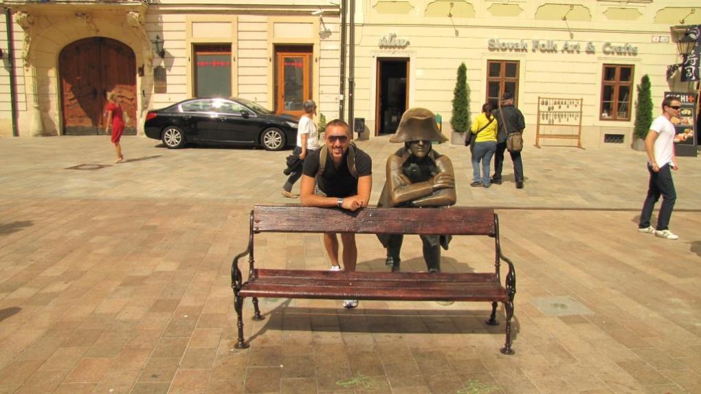 Foto con statue 7