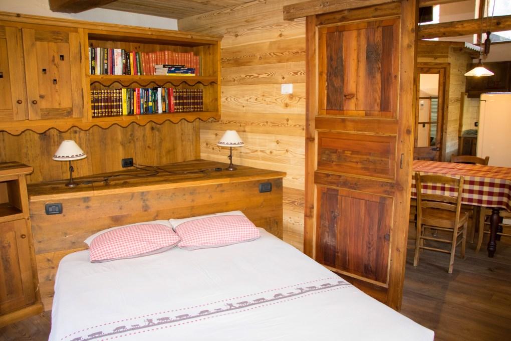 appartamenti le murier - camera da letto