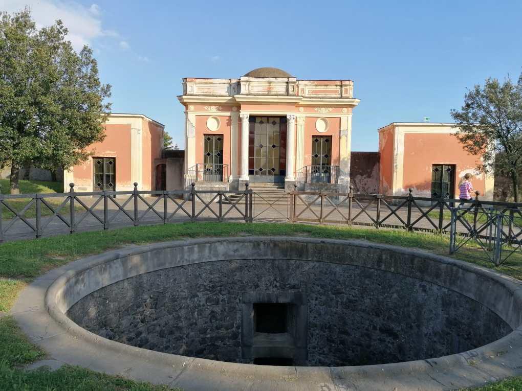 Parco sul mare di Villa Favorita 2