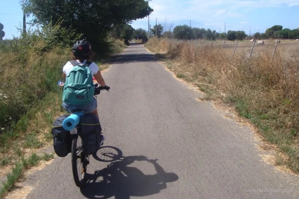 viaggiare in bici maremma toscana