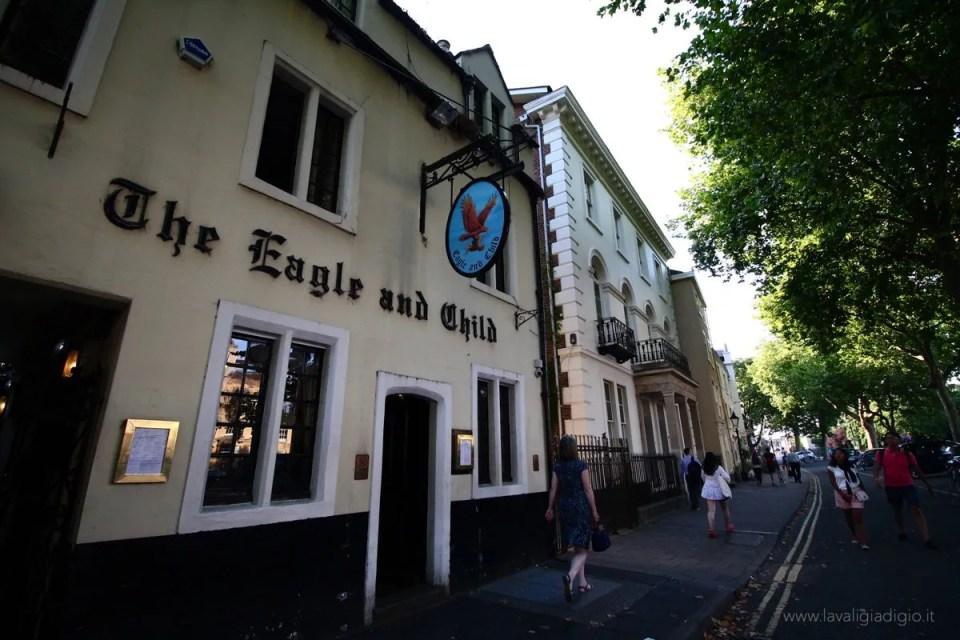 i luoghi di tolkien ad oxford pub
