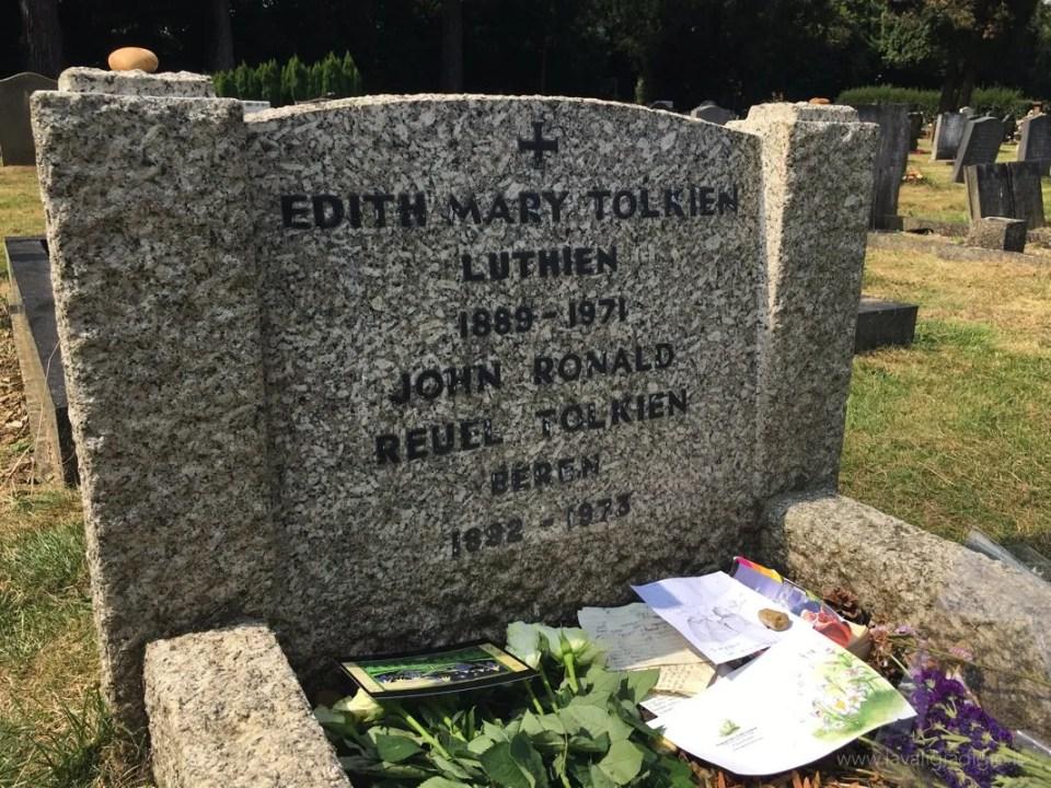 i luoghi di Tolkien ad Oxford tomba