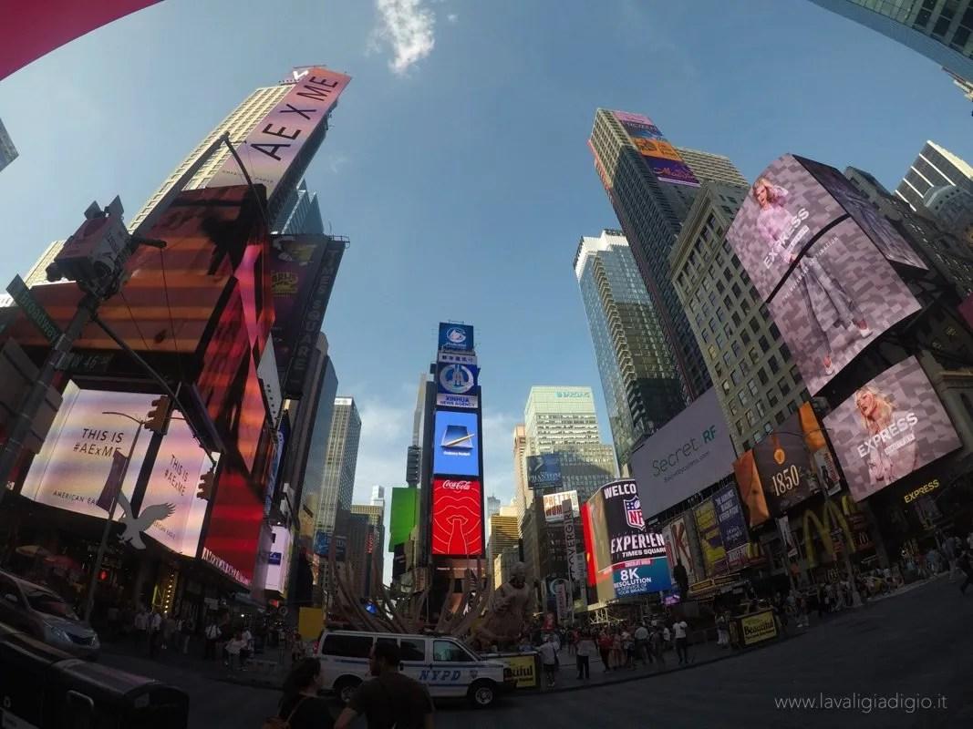 organizzare un viaggio a new york