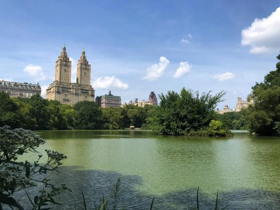 itinerario New York Central park