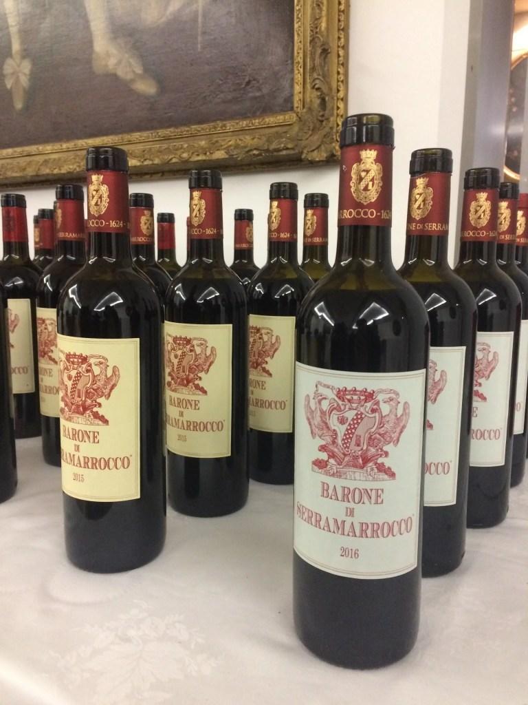 BARONE DI SERRAMARROCCO AZIENDA AGRICOLA barone di serramarrocco vino