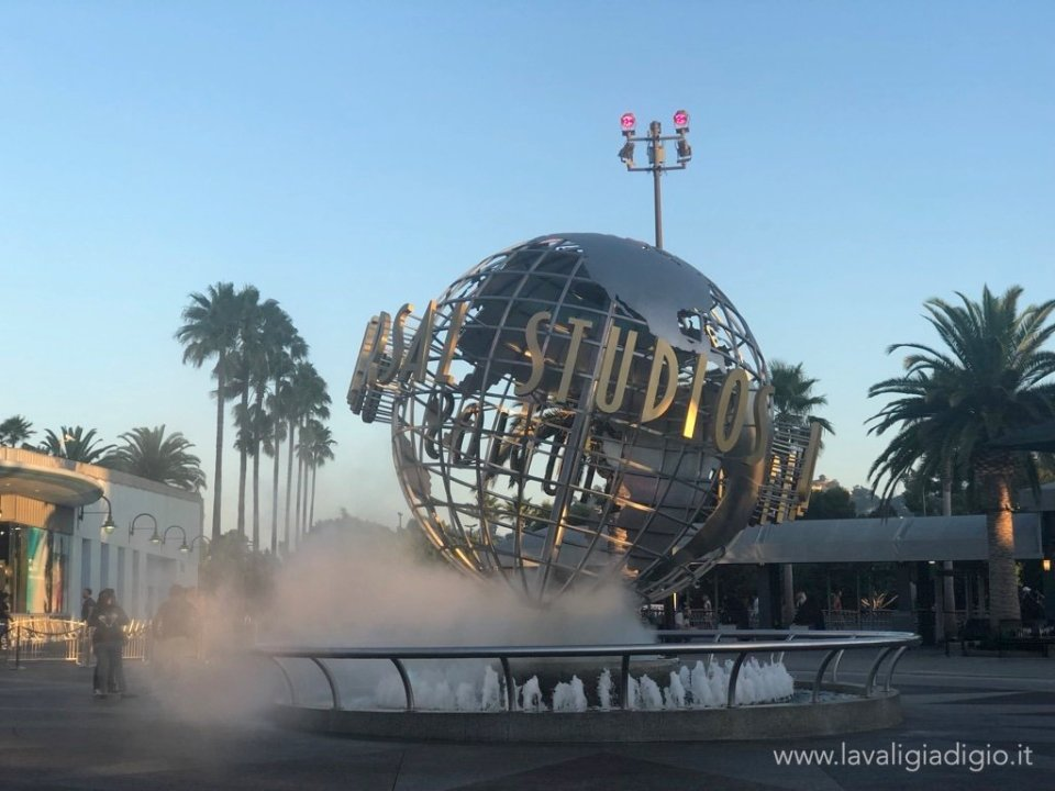 Itinerario in California e Canyon - universal studios Los Angeles