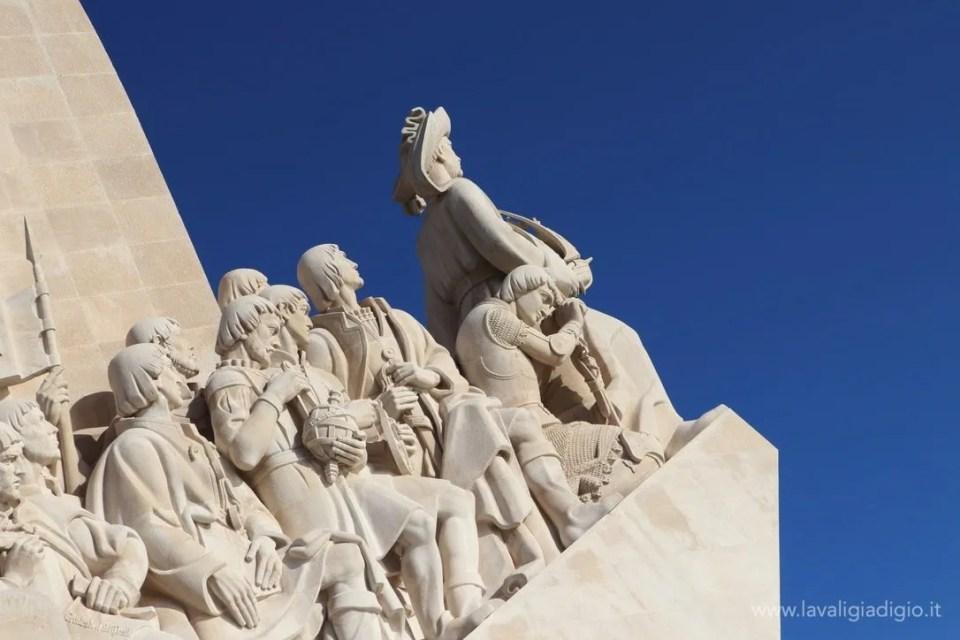 cosa vedere a Lisbona in tre giorni - statua esploratori